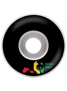 Enjoi Rasta Panda Int - Black - 52mm - Skateboard Wheels