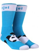 Enjoi Panda Feet - Turquoise - Mens Socks