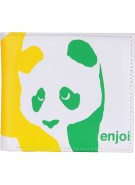 Enjoi Panda Wallet - White/Rasta - Wallet