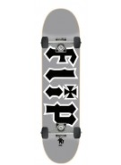 Flip Team HKD Young One - Silver - 7.4in x 27.6in - Complete Skateboard