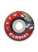 Spitfire Wheels Cardiel Member SWL - White - 53mm - Skateboard Wheels