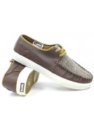 Globe Castro United - Brown/Tweed - Skateboard Shoes