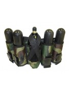 Gen X Global 4+1 Vertical Paintball Harness - Camo