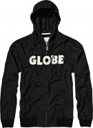Globe Bartley Headphone Hoodie w/ Built in Earbuds - Black/Off White - Mens Sweatshirt