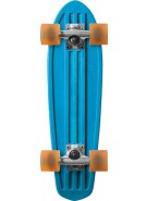 Globe Bantam Retro Rippers - Horizon/Raw/Clear Amber - Mini Cruiser 7x24 - Complete Skateboard