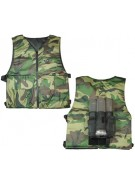 Gen X Global Reversible Chest Protector - Woodland Camo