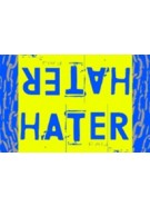 Hater Gun Graffiti - Hater Yellow