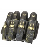 2012 Valken Crusade Paintball Harness 4+7 - Static Yellow