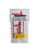 Khiro Bitch Bushing Set Yellow Med-Hard Top/bottom - Skateboard Bushings