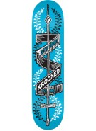 Krooked Poke Yer Eyes Out Medium MD - Blue - 8.13 - Skateboard Deck
