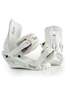 Lamar V3 2010 - Women's White Snowboard Bindings