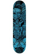 Real Schaaf Forever Redux - Black/Blue - 8.5 - Skateboard Deck