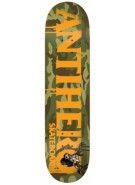 Anti-Hero Cowhorn MD - 8.12 - Camo/Orange - Skateboard Deck