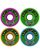 Spitfire Wheels 80HD Speedies Neon Blast Mash - Neon - 56mm - Skateboard Wheels