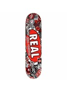 Real Stick It Up - 8.38x32.56 - Red - Skateboard Deck