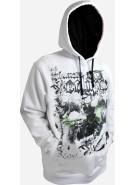 Planet Eclipse 2011 Scorpio Hooded Sweatshirt - White