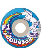 Spitfire Wheels F1 Streetburner Johnson Spirit Animal - 52mm - Skateboard Wheels