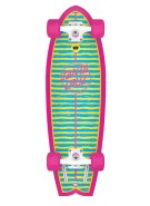 Santa Cruz Stripe Shark Cruzer - 7.4in x 29.1in - Complete Skateboard