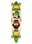 Flip Cheech And Schong Pinner Tail Cruzer - 9.9in x 43.5in - Complete Skateboard