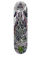 Creature Gravette Ritual 3D Powerply - Grey - 8.2in x 31.9in - Skateboard Deck