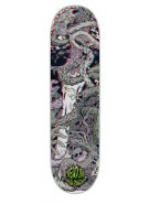 Creature Bingaman Ritual 3D Powerply - Grey - 8.375in x 32in - Skateboard Deck