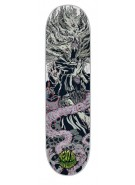 Creature Navarrette Ritual 3D Powerply - Grey - 8.8in x 32.5in - Skateboard Deck