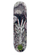 Creature Graham Ritual 3D Powerply - Grey - 9in x 33in - Skateboard Deck