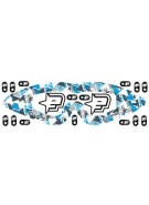 Planet Eclipse Lens Wrap & Stickers (For E-Vents) - Blue