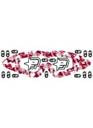 Planet Eclipse Lens Wrap & Stickers (For E-Vents) - Red
