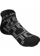 Planet Eclipse Ankle Socks - Black