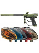 2012 Proto Reflex Rail Paintball Gun w/ Rotor Loader - Olive/Black Dust
