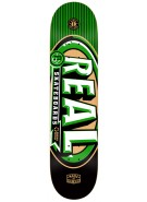 Real Renewal MVP PP MD - 7.75 - Green - Skateboard Deck