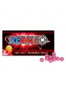 Reball 100 Re-Usable Paintballs - Pink