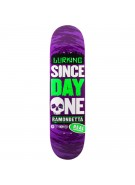 Real Ramondetta Since Day One Bold - 8.38 - Purple - Skateboard Deck