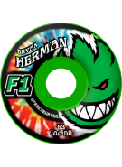 Spitfire Wheels F1 Streetburner Herman Kush GRN - 53mm - Skateboard Wheels