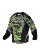 2012 Dye C12 Paintball Jersey - Tiger Lime