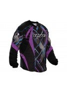 2012 Dye C12 Paintball Jersey - Chevron Purple