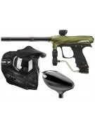 2011 Proto Rail PMR Paintball Gun Combo Kit - Dust Olive