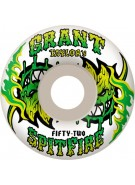 Spitfire Wheels Taylor Salsa Verde - 54mm - Skateboard Wheels