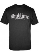 Sublime Band Stamp Logo - Black - Band T-Shirt