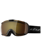 Dye T1 Black Snowboard Goggles w/ Additional Lens - Bronze Fire