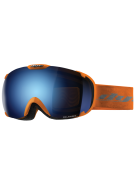 Dye T1 Orange Snowboard Goggles w/ Additional Lens - Blue Ice Polarized