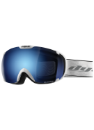 Dye T1 White Snowboard Goggles w/ Additional Lens - Blue Ice Polarized