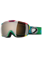 Dye T1 World Snowboard Goggles w/ Additional Lens - Orange Gold