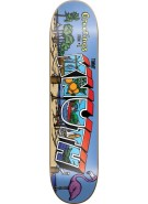 World Industries Kunth Greetings - Blue - 8.1 - Skateboard Deck