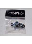 Orion Trucks Axle Lock Nuts (Set of 4 & Washers) - Skateboard Truck Hardware