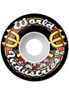 World Industries Skull Team Logo 54mm Wheels, Set of 4 - Skateboard Wheels