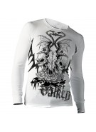 2011 Valken Paintball Wicked Long Sleeve Thermal T-Shirt - White