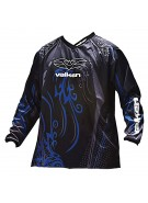 2010 Valken Fate Paintball Jersey - Blue