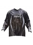 2010 Valken Fate Paintball Jersey - Black